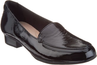 Clarks Collection Leather Slip-On Loafers - Juliet Lora