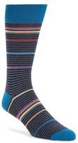 Bugatchi Men's 'Rainbow Stripe' Socks