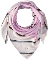 Kate Spade Letters from Paris Silk Square Scarf Scarves