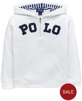 Ralph Lauren Polo Overhead Hoody - White