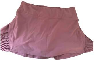 Lululemon Purple Cotton - elasthane Skirt for Women