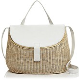 Zacarias Creel Wicker Shoulder Bag