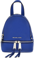MICHAEL Michael Kors Rhea extra-small grained leather backpack