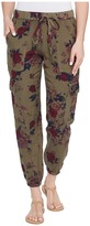 Lucky Brand Printed Cargo Pants Women's Casual Pants