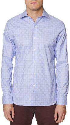 Hickey Freeman Plaid Woven Shirt