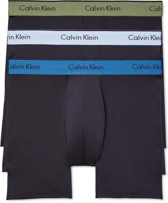Calvin Klein Men Microfiber Stretch Boxer Brief 3-Pack