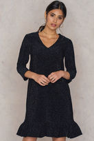 Bottom Frill Sleeve Dress