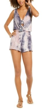 Becca Tide Pool Tie-Dye Romper Cover-Up Women's Swimsuit
