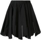 Julien David pleated skirt - women - Cotton - S