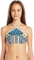 Bikini Lab Women's Birds of a Feather High Neck Top