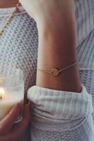 Nashelle Coin Initial Bracelet