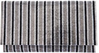 Nina Crystal Stripe Clutch