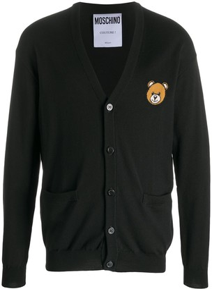 Moschino Teddy Bear V-neck cardigan