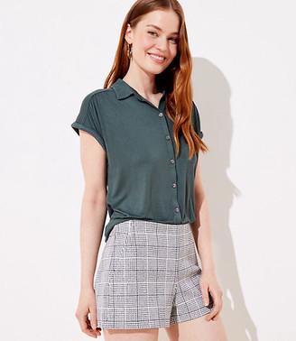 LOFT Tweed Shorts
