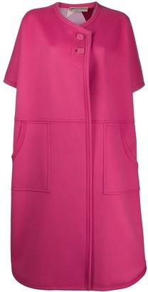 Emilio Pucci Oversized Short-Sleeve Coat