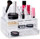 Richard's Homewares Deluxe 2-Piece 3 Drawer Cosmetic Organizer Set
