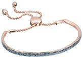 Monica Vinader Fiji Blue Diamond Bar Bracelet
