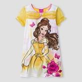 Disney Princess Toddler Girls' Disney Princess® Belle Nightgown - Yellow