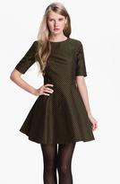 Ted Baker Jacquard Fit & Flare Dress