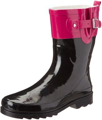 Western Chief Women's Waterproof Printed Mid Height Rain Boot