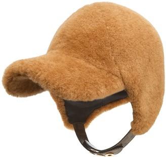 Fendi Furry Visor Helmet