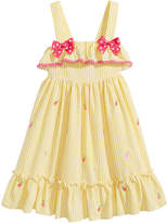 Good Lad Gingham Pineapple Dress, Little Girls