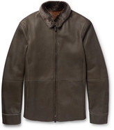 Giorgio Armani - Nubuck Shearling Jacket