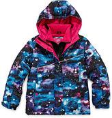 JCPenney Vertical 9 Vestee Fleece-Lined Ski Jacket - Preschool Girls 7-16