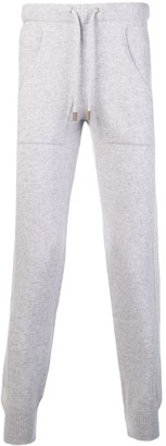 Eleventy Cashmere Tapered Trousers