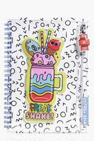 Boohoo Vibe Squad Squishy Pencil Case Notebook