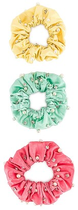 MaryJane Claverol Miami Scrunchie Set