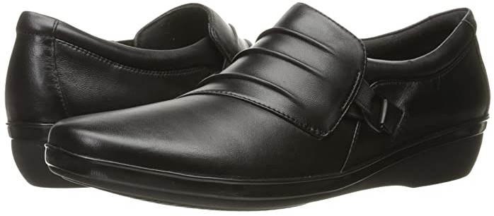 Clarks Everlay Heidi (Black Leather
