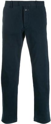Closed straight leg chino trousers