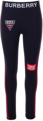 Burberry Logo Side Striped Leggings