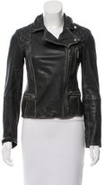 AllSaints Distressed Leather Jacket