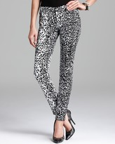 Jeans - The Skinny in Snow Leopard Print