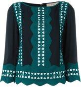 Tory Burch 'Georgette' top - women - Silk/Polyester - 6