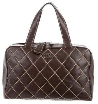 Chanel Surpique Handle Bag
