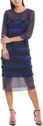Badgley Mischka Midi Dress