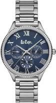 Lee Cooper Silvertone Multifunction Bracelet Watch