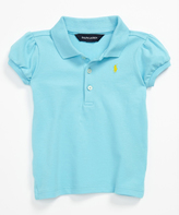 Ralph Lauren French Turquoise Polo - Toddler & Girls