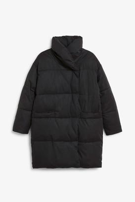 Monki Oversized puffer coat