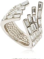 Giuseppe Zanotti Design Wrap Around Crystal Cuff Ring