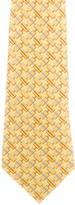 Chanel Logo Silk Tie