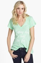 Wildfox Couture 'Getting There' V-Neck Tee