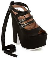 Shellys London Elke Platform Ankle Tie Pump