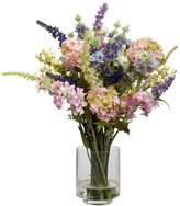 Nearly natural Silk Lavender & Hydrangea Arrangement