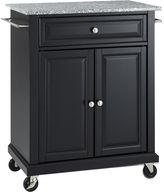 Asstd National Brand Wellman Granite-Top Kitchen Cart