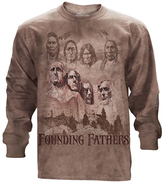The Mountain Brown 'Founding Fathers' Long-Sleeve Tee - Unisex