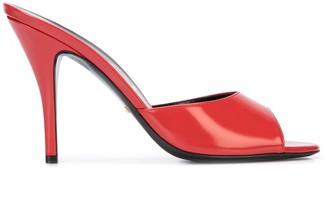 Gucci Open-Toe Slip-On Sandals